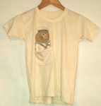 Kids 'marine monkey' pocket tee